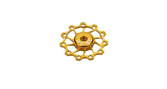 KCNC Jockey Wheel Ultra 11T SS Bearing gold